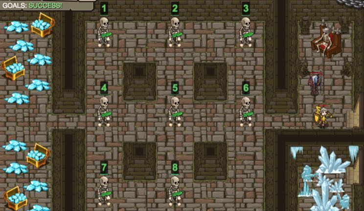 Skeleton Puzzle - Learn to Code in Python, JavaScript, HTML | CodeCombat