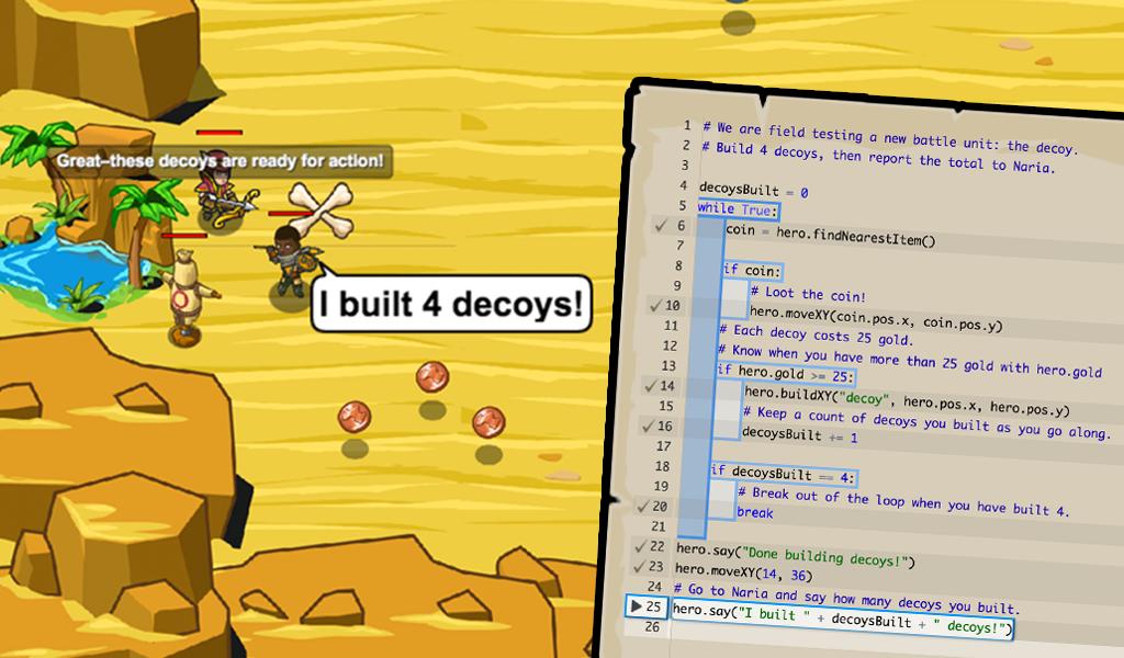 CodeCombat screenshot