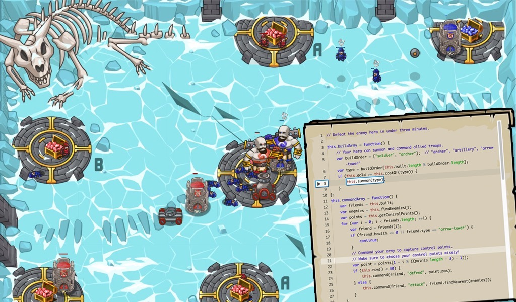 Codecombat learn how to code by playing a game the most engaging game for learning programming gumiabroncs Images