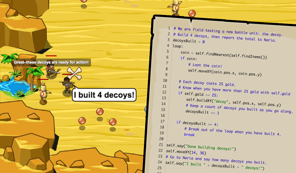 CodeCombat - Coding games to learn Python and JavaScript